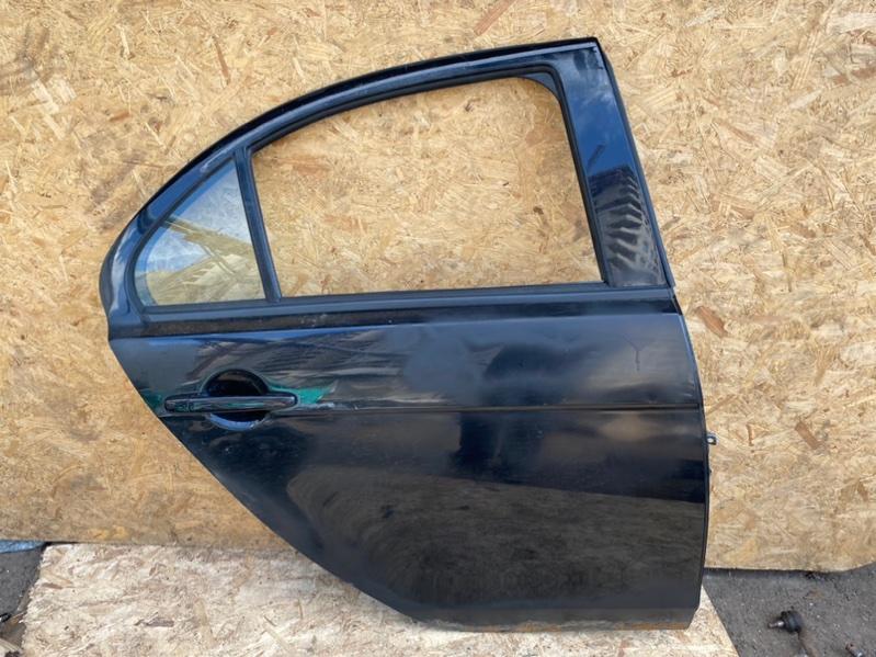 Дверь Mitsubishi Lancer 10 CY 4B11 2010 задняя правая (б/у)