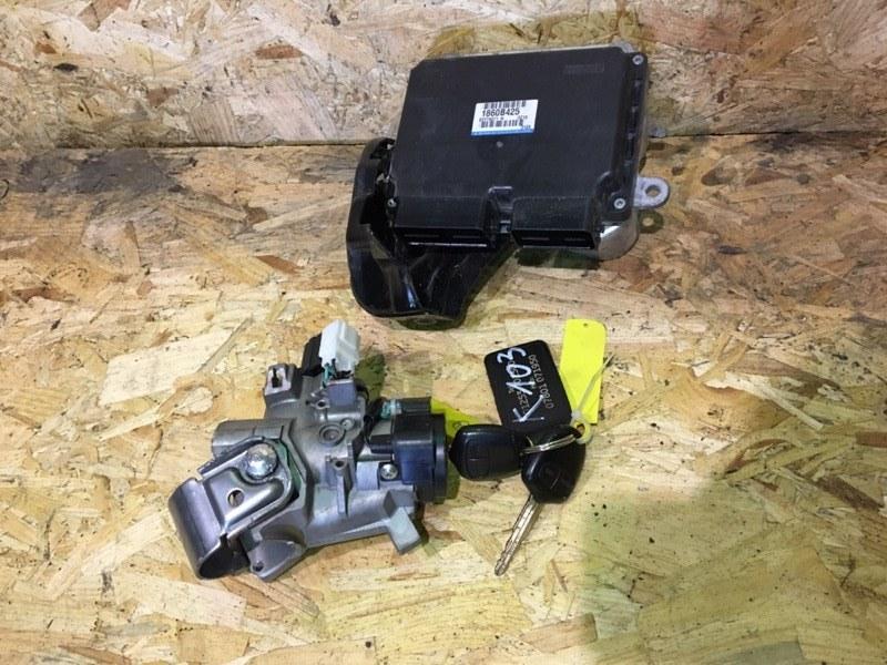 Блок управления двигателем комплект Mitsubishi Asx GA 4A92 2011 (б/у)