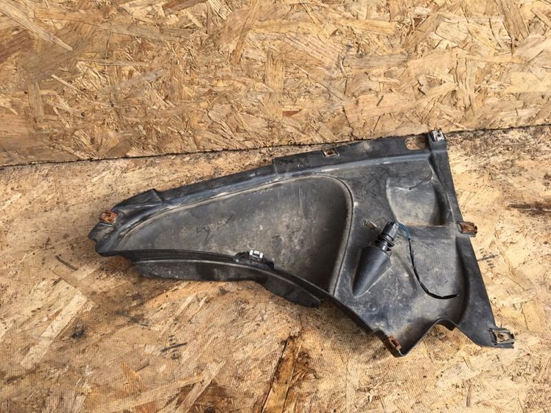 Пыльник бампера Bmw 328Ix F30 N20B20 2012 передний левый (б/у)