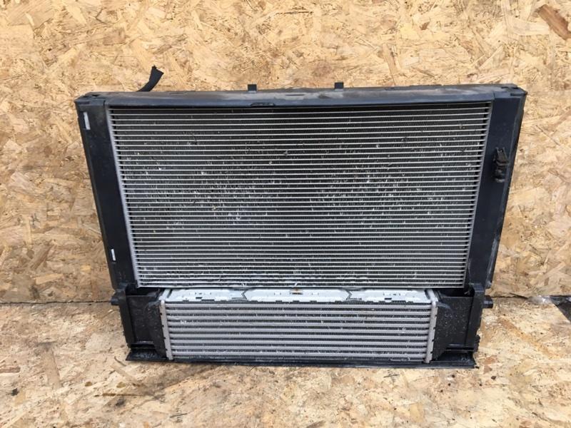 Кассета радиаторов в сборе Bmw 328Ix F30 N20B20 2012 (б/у)