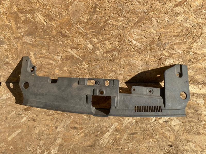 Накладка замка капота Mitsubishi Lancer 10 CY 4B11 2009 передняя верхняя (б/у)