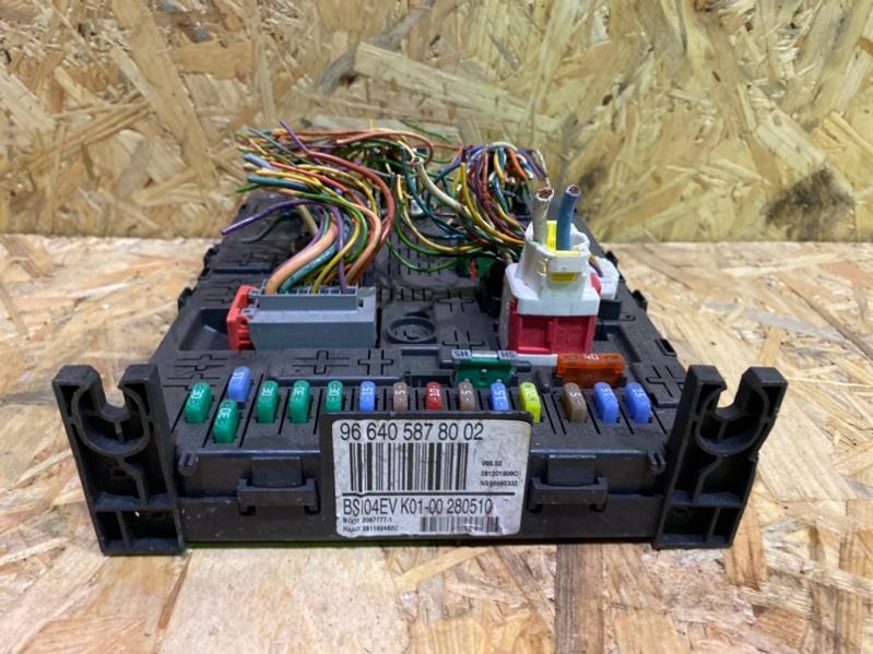 Блок предохранителей bsi Peugeot 308 Т7 EP6 2010 (б/у)