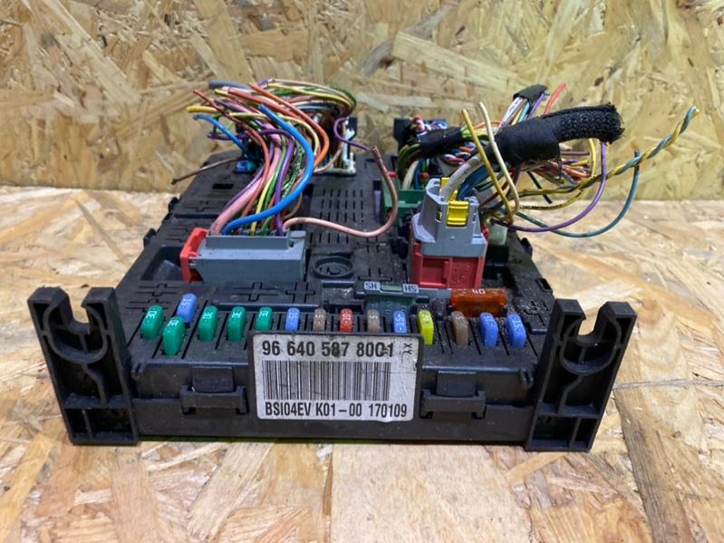 Блок предохранителей bsi Peugeot 308 Т7 EP6 2009 (б/у)