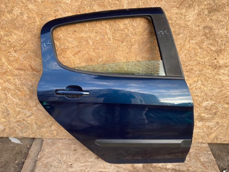 Дверь Peugeot 308 Т7 EP6 2010 задняя правая (б/у)