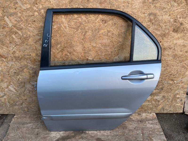 Дверь Mitsubishi Lancer 9 CS 4G18 2005 задняя левая (б/у)