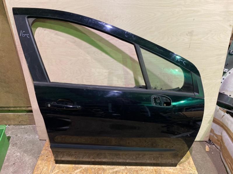 Дверь Peugeot 308 Т7 EP6 2007 передняя правая (б/у)