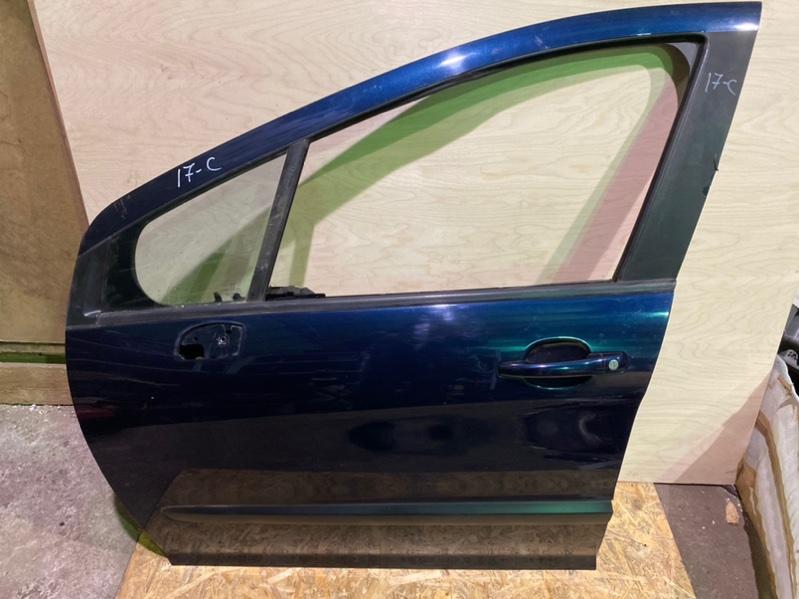 Дверь Peugeot 308 Т7 EP6 2010 передняя левая (б/у)