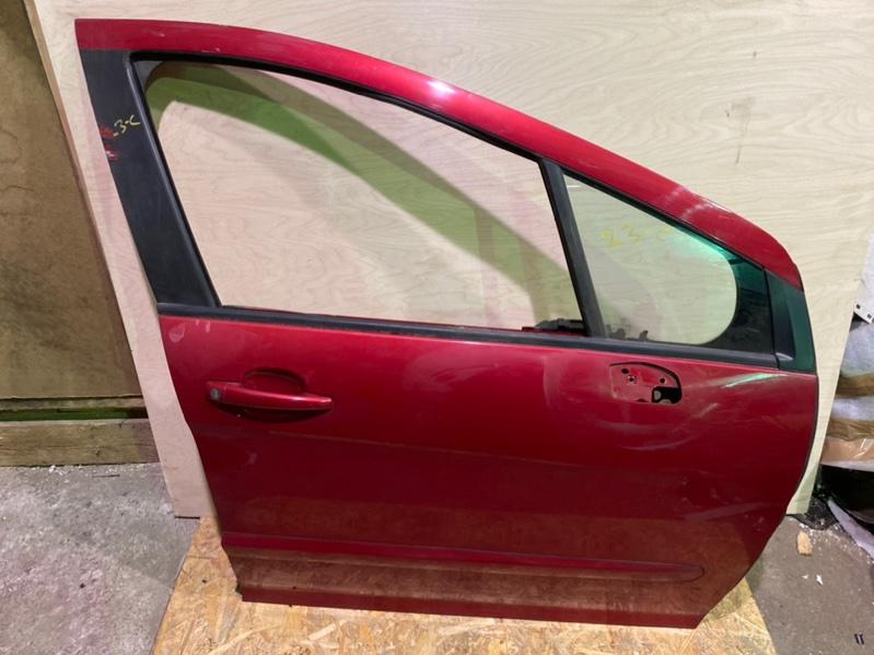 Дверь Peugeot 308 Т7 EP6 2008 передняя правая (б/у)