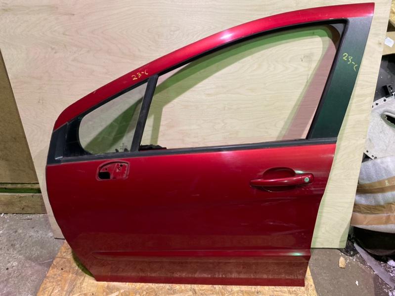Дверь Peugeot 308 Т7 EP6 2008 передняя левая (б/у)