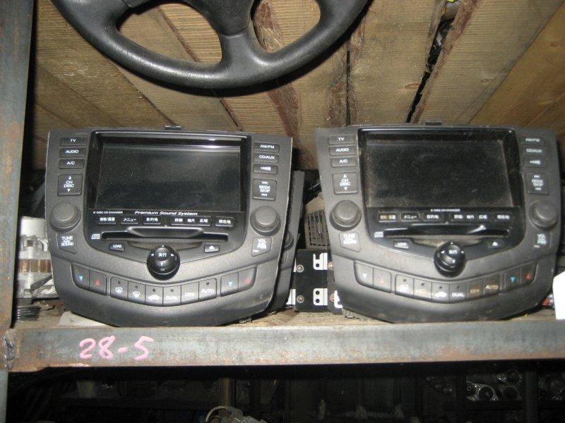 Магнитолы для Аккорд: штатные2002-2007 (CL-7)