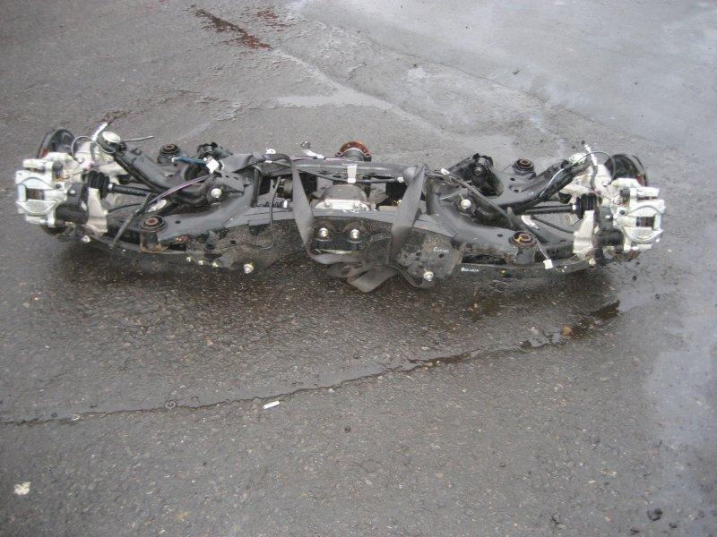 задняя подвеска  XV