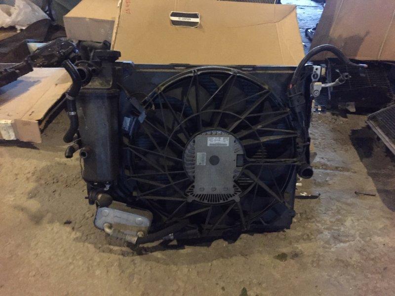 кассета радиаторов с вентилятором х-3 е83 2,5