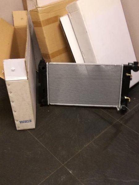НОВЫЙ радиатор охлаждения автомат zze120 3zz Королла 2000-2007гг