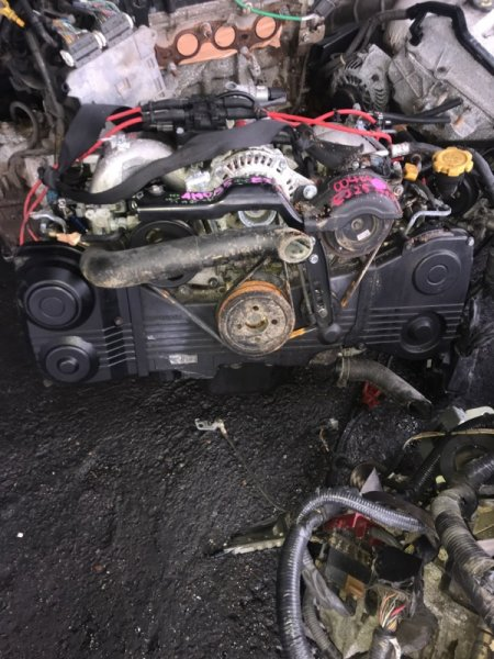 Двигатель Subaru Legacy EJ254 1999 (б/у)