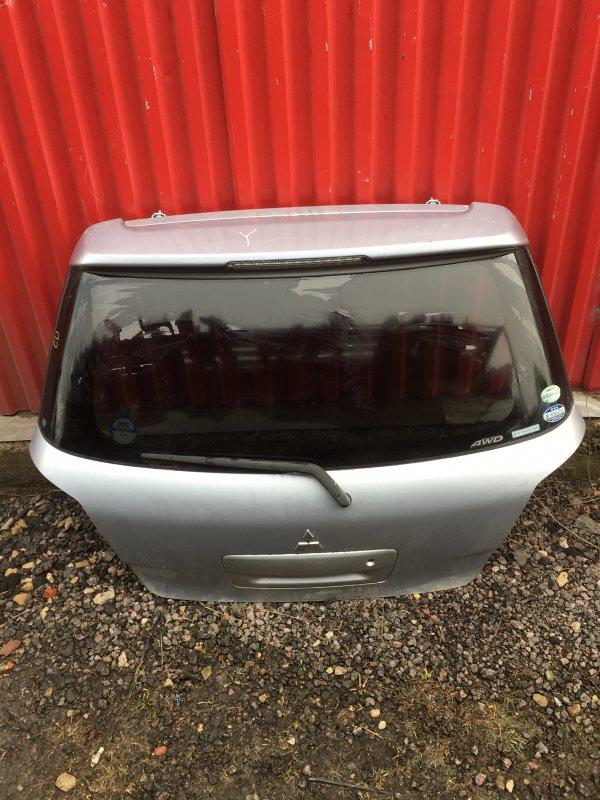 Дверь багажника Mitsubishi Airtrek CU задняя (б/у)