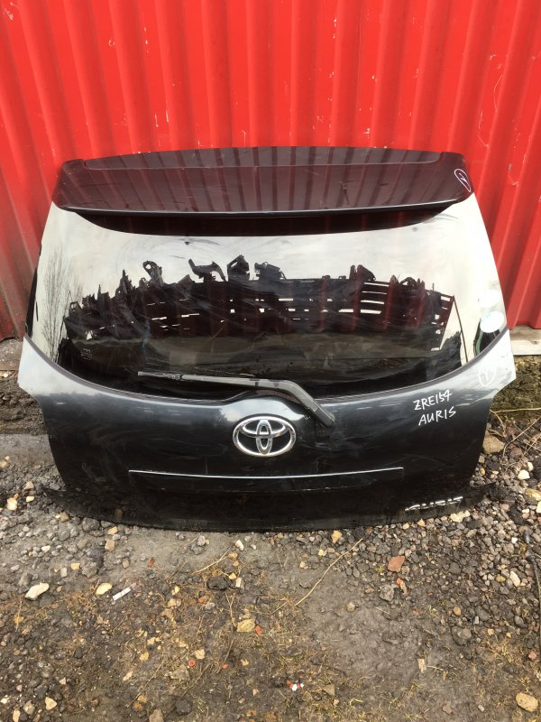 Дверь багажника Toyota Auris E150 задняя (б/у)