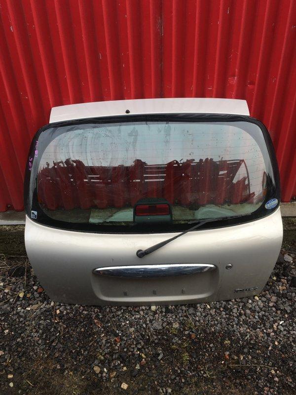 Дверь багажника Toyota Duet задняя (б/у)