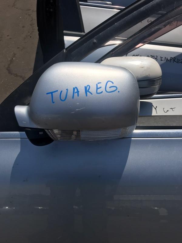 Зеркало Volkswagen Touareg 7LA 2005 переднее (б/у)