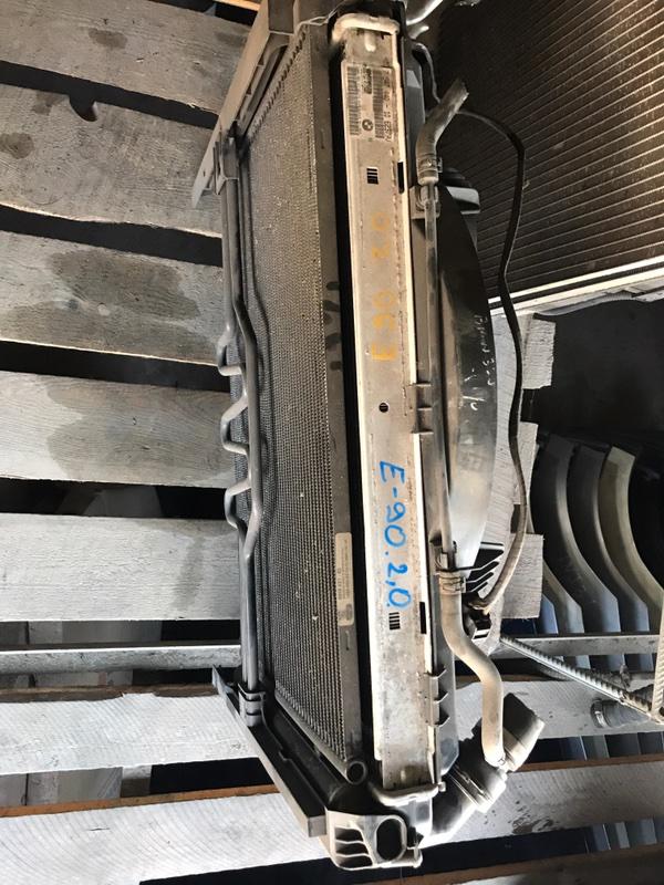 Радиатор двс Bmw 3 E90 2.0 2008 (б/у)