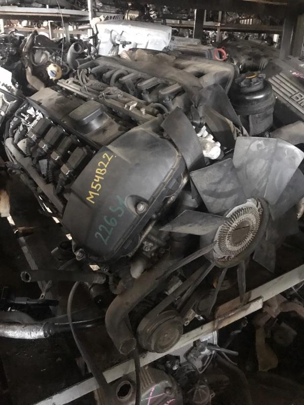 Двигатель Bmw 5 E39 M54B22 2000 (б/у)