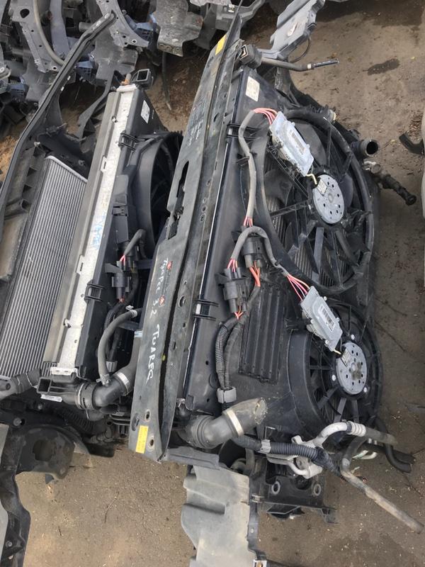Радиатор двс Volkswagen Touareg 7LA 2005 (б/у)