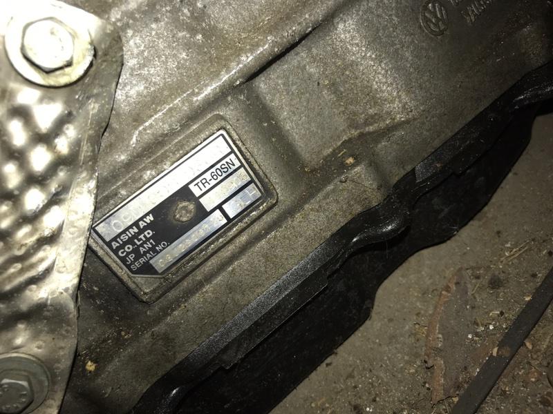 Акпп Volkswagen Touareg 7LA 2004 (б/у)