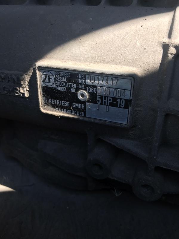 Акпп Audi A4B5 8D2 1999 (б/у)