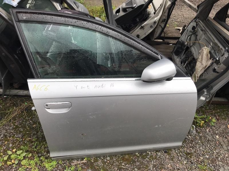 Дверь Audi A6C6 4F2 2007 передняя (б/у)