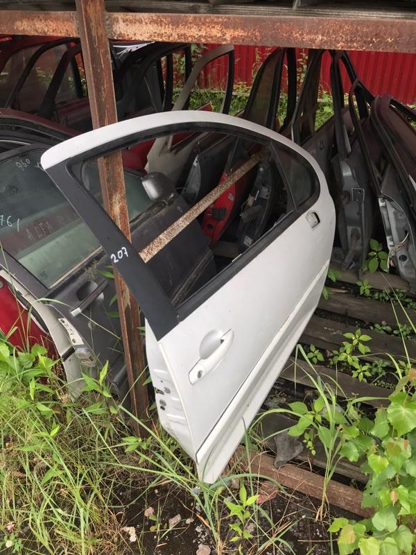 Дверь Peugeot 207 WC 2006 передняя (б/у)