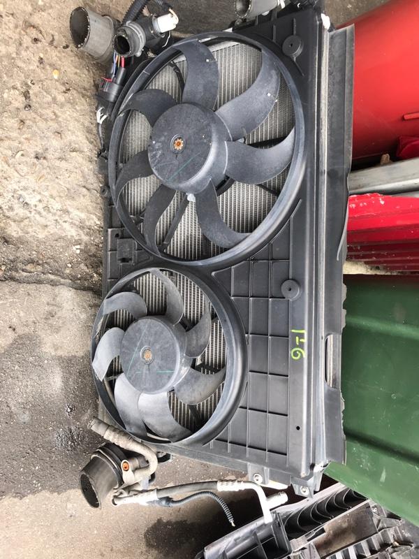 Радиатор двс Volkswagen Golf 6 5K1 2009 (б/у)