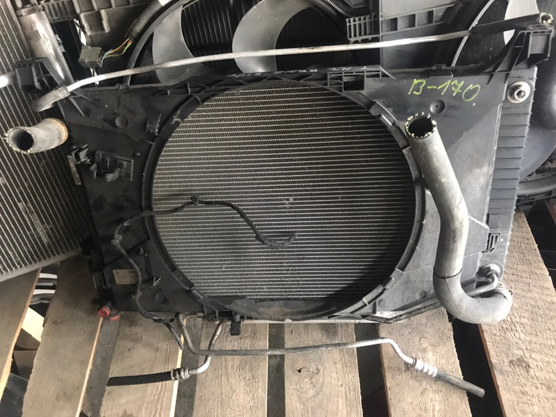 Радиатор двс Mercedes-Benz B T245.231 2006 (б/у)