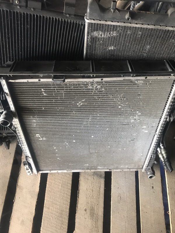Радиатор двс Bmw X5 E53 2003 (б/у)