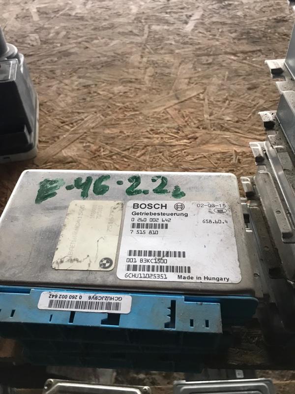 Эбу Bmw 3 E46 2001 (б/у)
