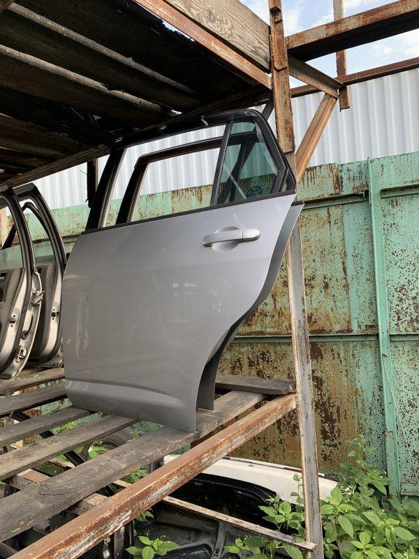 Дверь Nissan Tiida C11 задняя (б/у)