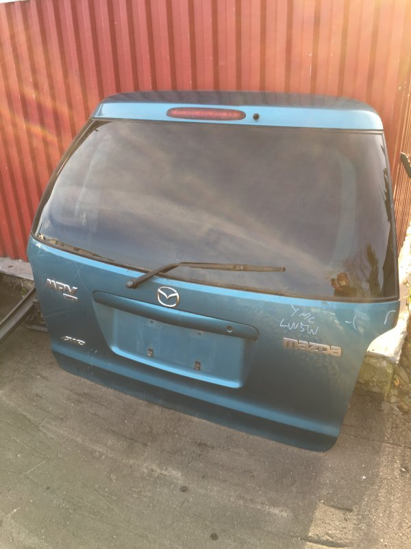 Крышка багажника Mazda Mpv LW 2000 задняя (б/у)
