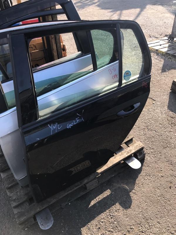 Дверь Volkswagen Golf 6 5K1 2010 задняя (б/у)