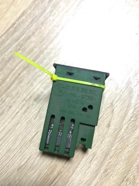 Кнопка выключатель солнцезащитной шторы Bmw 7-Series E38 M60B30 (б/у)
