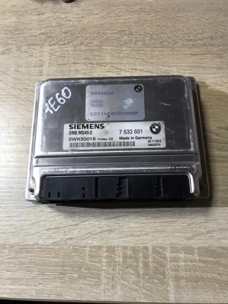 Эбу Bmw 5-Series E60 M54B22 2004 (б/у)