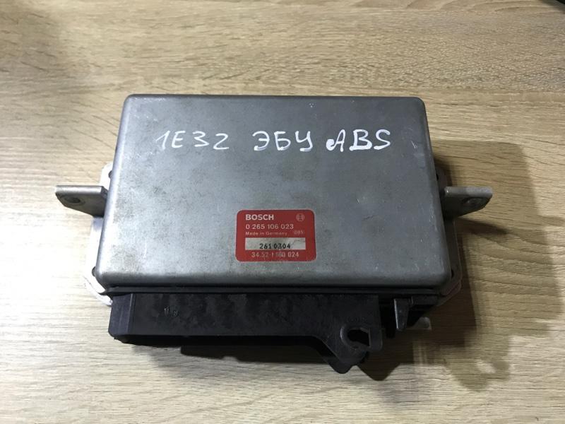 Блок управления abs Bmw 7-Series E32 M70B50 1990 (б/у)