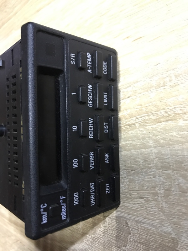 Бортовой компьютер Bmw 7-Series E32 M70B50 1990 (б/у)
