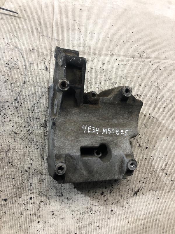 Кронштейн компрессора кондиционера Bmw 5-Series E34 M50B25 1993 (б/у)