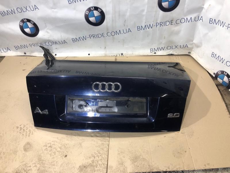 Крышка багажника Audi A4 B6 2.0 ALT 2003 (б/у)