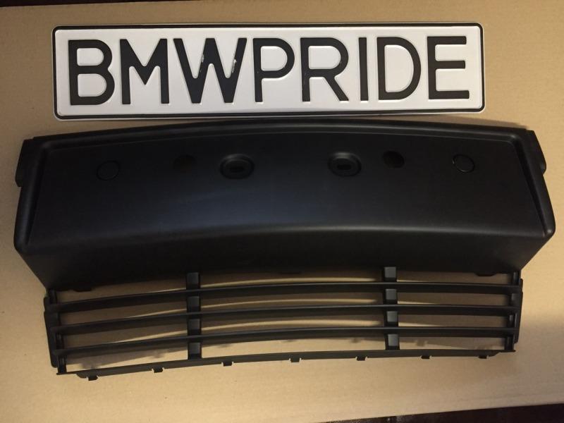 Решетка бампера Bmw 5-Series E34 передняя