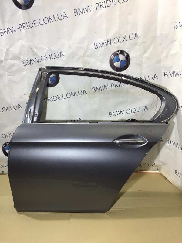 Дверь Bmw 5-Series F10 N63B44 2013 задняя левая (б/у)
