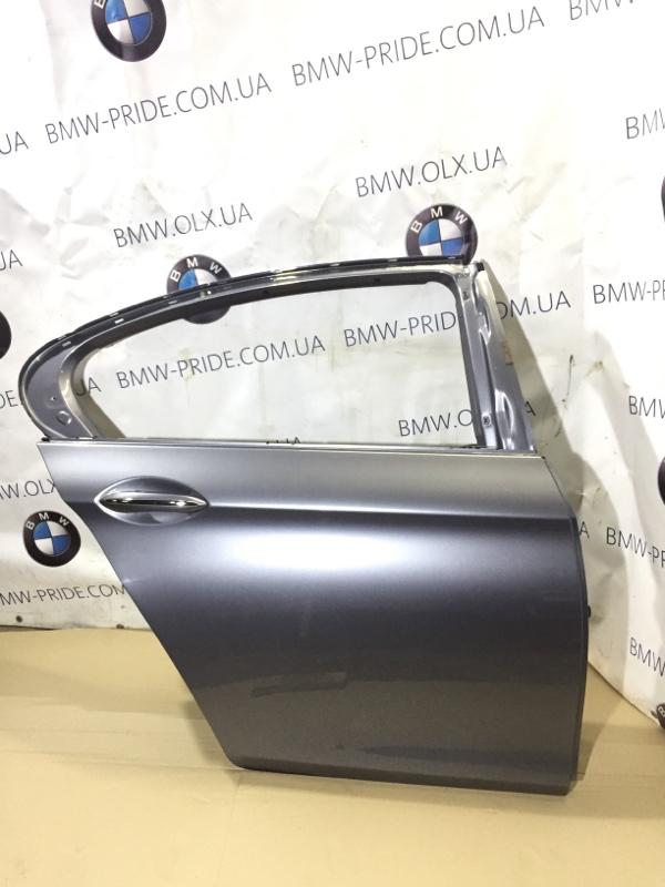 Дверь Bmw 5-Series F10 N63B44 2013 задняя правая (б/у)