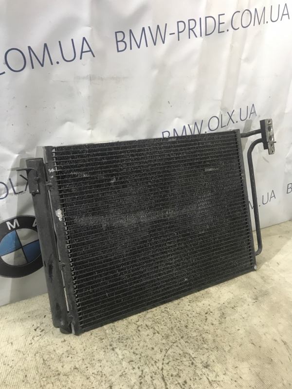Радиатор кондиционера Bmw X5 E53 M62B44 2003 (б/у)