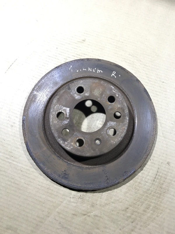 Тормозной диск Opel Signum 2.2 YH 2006 задний (б/у)