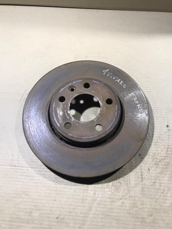 Тормозной диск Opel Vivaro 1.9 D 2007 передний (б/у)
