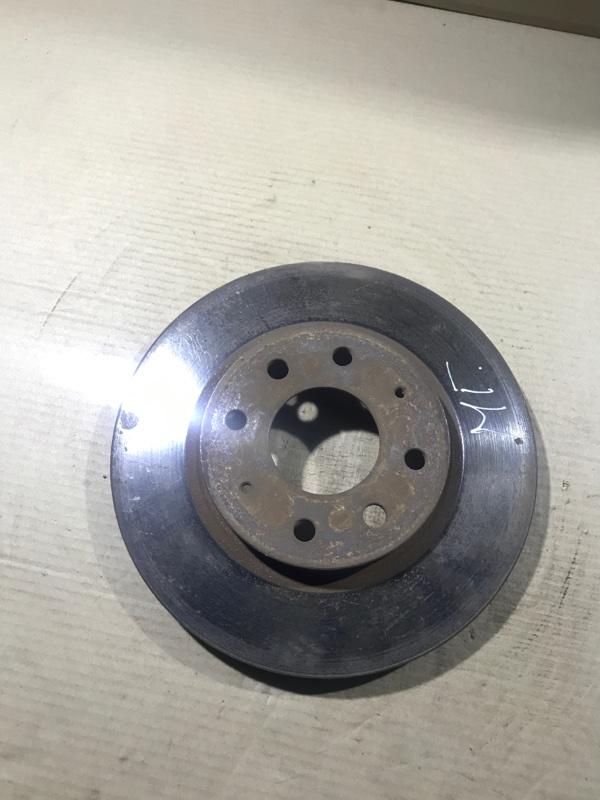 Тормозной диск Mitsubishi Galant 8 2.4GDI передний (б/у)