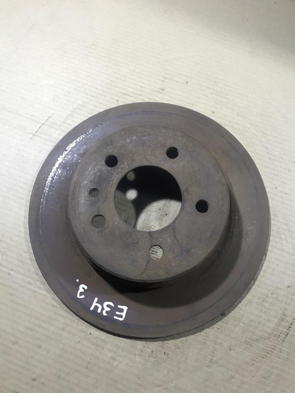 Тормозной диск Bmw 5-Series E34 M50B25 задний (б/у)
